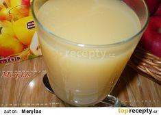 Horký nápoj z hruškového džusu recept - TopRecepty.cz Glass Of Milk, Pudding, Cheese, Drinks, Cooking, Health, Ethnic Recipes, Desserts, Food