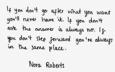 Take the first step forward