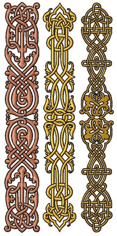 machine embroidery designs in the hoop Celtic Patterns, Embroidery Patterns Free, Machine Embroidery Designs, Border Embroidery Designs, Celtic Border, French Knot Embroidery, Advanced Embroidery, Celtic Knot Designs, Photo Stitch