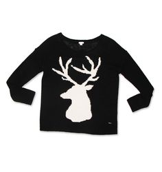 Deer Sweater. #hotforholiday