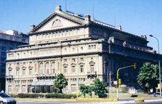 Teatro Colón - Buenos Aires/Argentina  To Visit