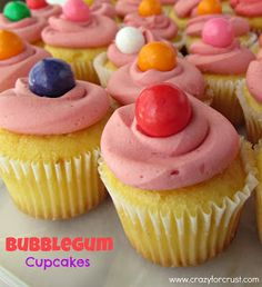 ICEE Cupcakes {and other fun Softball treats}