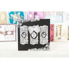 Tonic Mini Decorative Die Collection - Floral Fancy, Tangled Trellis and Garland Terrace (359845) | Create and Craft