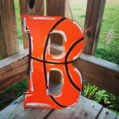 basketball themed initial