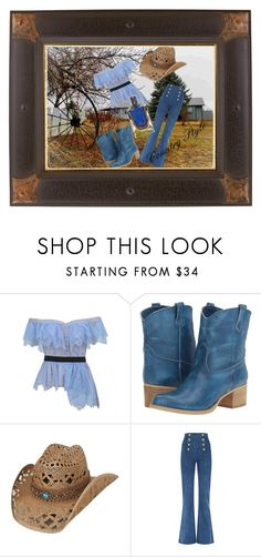 """Country Style 2."" by gabriella-bagdine-meszaros on Polyvore featuring self-portrait, Massimo Matteo, Balmain and country"
