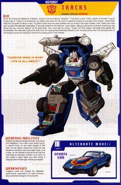 Transformers Universe - Gallery: G1 Tracks