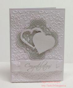 Congrats Chris and Sally's card - Scrapbook.com