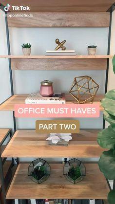 #amazonfavorites #amazon #musthaves #amazonhaul #amazonessentials #essentials Home Decor Hacks, Home Office Decor, Diy Home Decor, Cute Room Decor, Teen Room Decor, My New Room, My Room, Spare Room, Room Ideas Bedroom