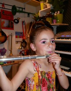 Salomée et la flute traversière