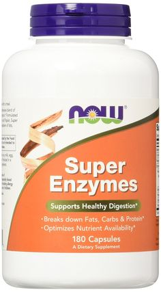 Amazon.com: NOW Super Enzymes,180 Capsules: Health & Personal Care