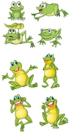les meli melo de mamietitine - Page 40 Funny Frogs, Cute Frogs, Frosch Illustration, Illustration Art, Vector Illustrations, Frog Rock, Frog Drawing, Frog Art, Arts And Crafts