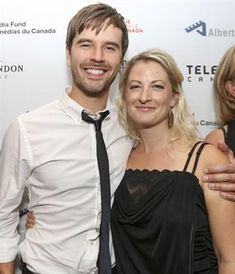 Congratulations to Graham and Alison on their marriage. Best wishes for a  long and happy life. Love always. Deb Photo : Graham Wardle, left, lead actor of the popular television series Heartland, with guest, on the red carpet at the Calgary International Film Festival opening gala in Calgary, on September 18, 2014.Crystal Schick / Calgary Herald