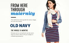 Expecting Models Agency  For Old Navy Maternity #maternitystyle