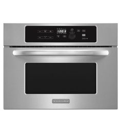 KitchenAid Architect Series II KBMS1454BSS 1.4 cu. ft. Built-in Microwave Oven //Price: $ & FREE Shipping  // #home #decor #interior #room #kitchen   #homesweethome #homedesign #myhome