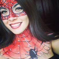 Makeup spiderwomen♥