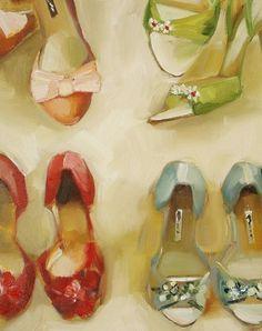 Shoe Shop - Janet Hill Studio