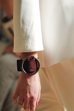 Celine : 2012SS Suede Leather Cuff | Sumally