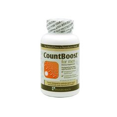 CountBoost for Men - Increase sperm count with this herbal supplement. Must pair with FertilAid for Men or FertilityBlend for Men. Not effective alone.