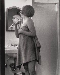 """Untitled Film Still #2  Cindy Sherman (American, born 1954)    1977. Gelatin silver print, 9 1/2 x 7 9/16"""" (24.1 x 19.2 cm). Horace W. Goldsmith Fund through Robert B. Menschel. © 2012 Cindy Sherman"""