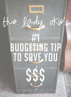 The Lady Okie: The #1 Best Budgeting Tip to Save You Money