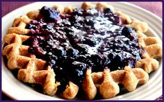 Grain Crazy: Whole Grain Blender Waffles with Berries