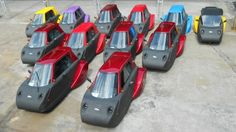 Automotive XPrize finalist Spira4u has begun pilot production in China of both a 10 KW electric and a fuel-injected 150cc gas-powered version of its distinctive and hyper-economical three-wheeler.