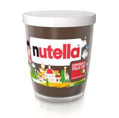 Fun Italian Nutella package.  Reminds me of the the Italian Shrek Nutella @Molly Wiggins got me on her study abroad in Florence!