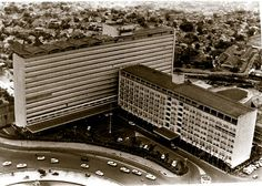 old Hotel Indonesia, built in 1962 it used to be the tallest building in Jakarta Old Pictures, Old Photos, Dutch East Indies, Old Photography, Colonial Architecture, City Scene, Historical Pictures, Jakarta, Southeast Asia