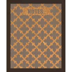 Perfect for pinning important notes or cherished photos, this eye-catching corkboard showcases a silkscreened quatrefoil trellis motif and black frame.   ...