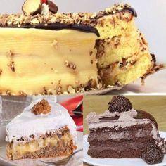 Os 3 Recheios Para Bolo que Não Estragam Fora da Geladeira são práticos e deliciosos. Com certeza, com esses recheios para bolo seus bolos serão um sucesso! Cake Mix Recipes, Fruit Recipes, Sweet Recipes, Cake Decorating For Beginners, Cake Decorating Tips, Cake Mix Pancakes, Nutella, Oreo Cake, Girl Cakes