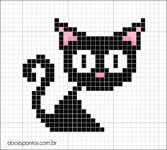 hama cat pattern