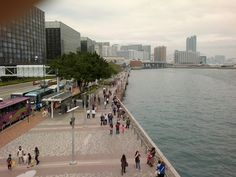 #Tsim_Sha_Tsui_Promenade:   Abbreviated as TST, it offers a great experience in terms of strolling and shopping options.