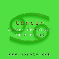Cancer Career horoscope for 2017-01-06: Today, excuse yourself if necessary, take a break and let your intellect weigh in. Your first response to a work situation now is likely to be an emotional one, but that doesn't mean you have to act on it or have an outburst at work..cancer