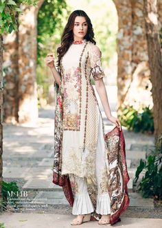 Mahiymaan Embroidered Lawn Festive Collection 2017 By Al-Zohaib | PK Vogue
