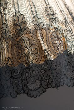 France : Bayeux Museum lace collection.