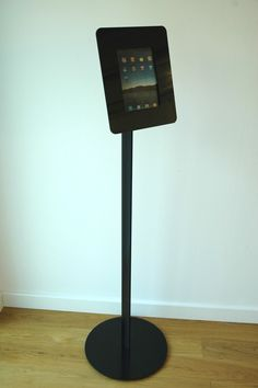 Free Standing iPad Kiosk with Rotating Bezel. This enclosure is a fantastic solution for many industries, providing a stylish and secure kiosk. Talk to us about your specifications today!   imageHOLDERS