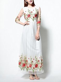 Women New Maxi Stylish Exquisite Embroidery Flowers A-lin... http://www.amazon.in/dp/B01HMFF96A/ref=cm_sw_r_pi_dp_Fk2Dxb1X2YCV9