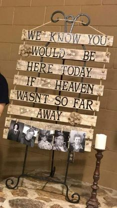 Top 14 Must See Rustic Wedding Ideas ---Homemade wedding decorations ofr wooden . : Top 14 Must See Rustic Wedding Ideas —Homemade wedding decorations ofr wooden sign for couples on a budget, fall weddings, spring weddings, diy wedding details. Wedding Goals, Plan Your Wedding, Wedding Quotes, Wedding In Memory, Wedding Vows For Her, Wedding Remembrance, Wedding Set Up, Space Wedding, Princess Wedding