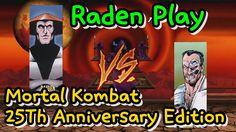 [Mugen] 모탈 컴뱃 25주년 기념판 라이덴 플레이 엔딩 / Mortal Kombat 25Th Anniversary Editi...