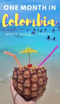 Are you trip planning and wondering, how much does it cost to travel in Colombia? In this report we break down exactly how much we spent in one month. Click through to read now. Trip To Colombia, Colombia Travel, Ecuador, Backpacking South America, South America Travel, Latin Travel, Peru, Colombian Cities, South America Destinations