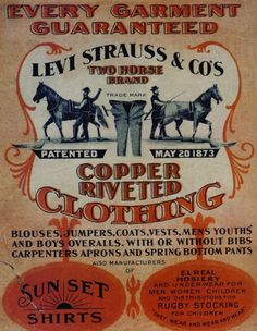 ad - Rock`n Roll,Blues,Country and Americana Vintage Levis, Vintage Leather, Vintage Advertisements, Vintage Ads, Vintage Western Wear, Leather Jeans, Mens Jumpers, Old Signs, Levi Strauss & Co