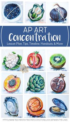 Worry about guiding your students, rather than the logistics and preparation for AP Art concentration with this TPT pack. You won't have to plan a single day of spring semester. A lesson plan, PowerPoints, handouts, timeline, teacher tips, evaluation sheets, and more are included. #apart#apartlesson #apartconcentration #concentration#art #portfolio #ap #tpt #teacherspayteachers#artproject #lessonplan #project