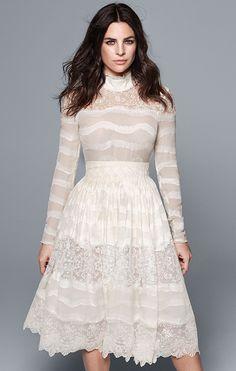 Julia Restoin-Roitfeld para campanha 2016 da linha consciente da H&M.
