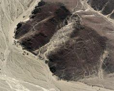 Nazca Lines. The astronaut. Nazca, Peru.  #nazca #travel #nazcalines #peru