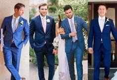 Blue and shades of camel Groomsmen Outfits, Bridesmaids And Groomsmen, Groom Attire, Navy Groomsmen, Blue Suit Wedding, Wedding Tux, Wedding Dresses, Wisteria Wedding, Wedding Pinterest
