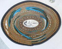 Mystic Journey Pine Needle Basket by by MelissaAbbottDesigns