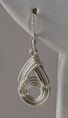 wirework earrings