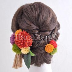Japanese Site, Up Styles, Hair Styles, Japanese Wedding, Hair Setting, Cute Box, Japanese Hairstyle, Yukata, Japan Fashion