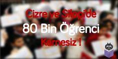 Şırnak'ın sokağa çıkma yasağı kaldırılan Silopi ile yasağın sürdüğü Cizre İlçesi'nde yaklaşık 80 bin öğrenci karnelerini alamadı.