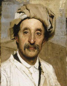 SELF PORTRAIT by Giuseppe  Pellizza da Volpedo (1868 -1907)